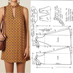 FREE PATTERN ALERT: Pants and Skirts Sewing Tutorials - On the Cutting Floor: Printable pdf sewing patterns and tutorials for women Fashion Sewing, Diy Fashion, Ideias Fashion, Fashion Outfits, Casual Outfits, Diy Clothing, Sewing Clothes, Dress Sewing Patterns, Clothing Patterns