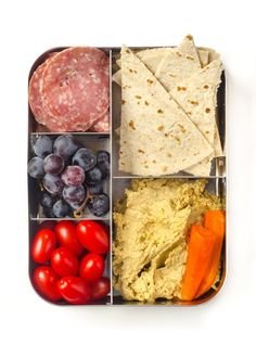 10 Sandwich-Free Lunch Ideas for Kids and Grownups Alike Bento Lunchbox Lunch Snacks, Healthy Snacks, Healthy Recipes, Detox Recipes, Lunch Recipes, Healthy Eats, Lunchbox Kids, Bento Lunchbox, Sac Lunch