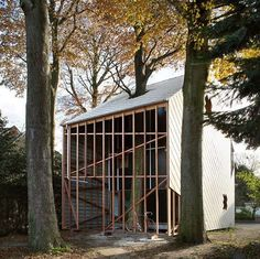 This House by De Vylder Vinck Taillieu is Natural and Human-Scaled #wooden #architecture trendhunter.com