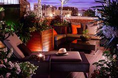 i love this rooftop garden