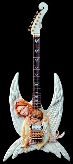 Angel guitar. ❣Julianne McPeters❣ no pin limits