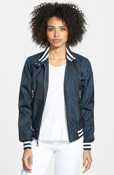 Vince+Camuto+Front+Zip+Bomber+Jacket+available+at+#Nordstrom