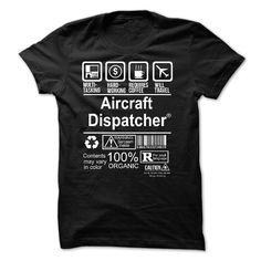 AIRCRAFT DISPATCHER T-Shirts, Hoodies. CHECK PRICE ==► https://www.sunfrog.com/No-Category/AIRCRAFT-DISPATCHER--multitasking-53888031-Guys.html?id=41382