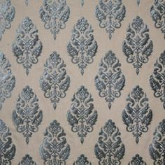 Pindler Fabric 5510 ORNATEZZA - BLUESTONE www.pindler.com Hearst Castle™ Collection