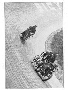 Vintage Boardtrackers Velodrome  www.DougBirnbaum.com