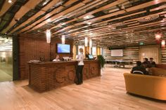 Google's New Moscow Office Headquarters Interior Design