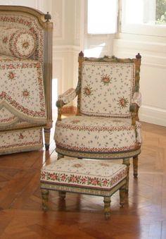 Inside room of Marie Antionette