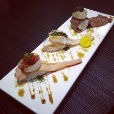 手作壽司 握 Nigiri Sushi, Sashimi, Sushi Ideas, Plating Ideas, Sushi Love, Japanese Food, Asian Recipes, Waffles, Seafood