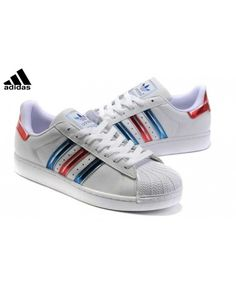 e9ba72feff453 New Arrival Adidas Superstar Mens Blue Slip-On Trainers T-1063