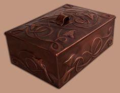 Repousse Celtic Box by Laurie C