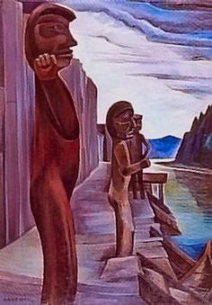 Blunden harbour totems Emily Carr - Emily Carr - Wikipedia, the free encyclopedia
