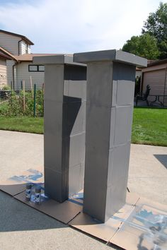 Cemetery Columns  DIY