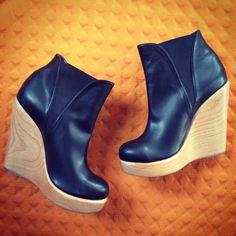 Handcut platform booties #vegan #platform #MadeInAmerica #VeganShoes #NicoraJohns