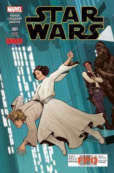 Joe Quinones se apunta a la fiebre #StarWars con su portada para el primer número de la nueva colección #Marvel