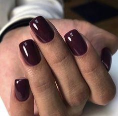 Uploaded by love. Find images and videos about style, beauty and nails on We Heart It - the app to get lost in what you love. Classy Nails, Stylish Nails, Trendy Nails, Cute Nails, Blush Nails, Pink Nails, My Nails, Dark Gel Nails, Image Nails