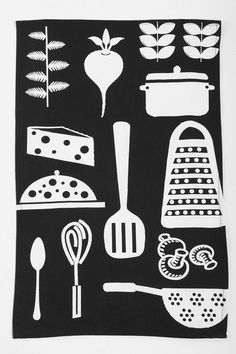 #UrbanOutfitters          #Apparment #Dinnerware    #measurements #cheers #cotto #utensil #content #festive #handy #towel #dish #cooking #woven #hand #machine #kitchen               Utensil Dish Towel        Overview:* Handy dish & hand towel crafted from woven cotton* Topped with a festive cooking utensil motif* Cheers up any kitchen space* Includes 1 towel Measurements:* 26l, 18h Content & Care:* Cotton* Machine wash* Imported…