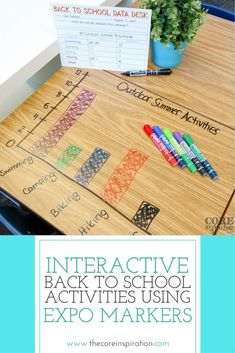 During the first week back to school, my students learn about data and graphing basics with this Data Desk activity. #projectbasedlearning #backtoschool #education #coreinspiration #teacherfreebie #elementaryeducation