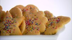 Baked Goodies! Lemon Carnival Cookies...a delicious spin on the classic cookie...I love the sprinkles!!