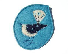 Lettie the birdie brooch