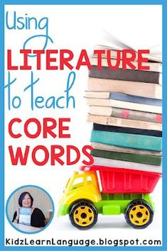 Use shared reading time to teach and practice core words with AAC users. Kidz Learn Language: More Core in Shared Reading for AAC Users. How Can You Do It?
