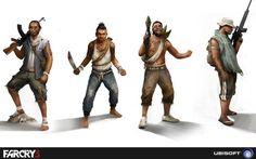 Far Cry 3 Concept Art