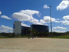 Cidade Administrativa de Minas Gerais, em Belo Horizonte - MG/ Brasil.  Projetado pelo arquiteto Oscar Niemeyer.