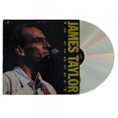 #JamesTaylor In #Concert - #Laser #Disc #vinil #vinilrecords #trilhasonora #music #movies