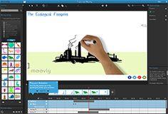Maak in een handomdraai je eigen animatiefilms met Moovly