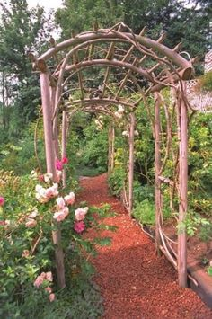 Once a flowering vine begins to weave it's way on here.... this would be Even more Beautiful.