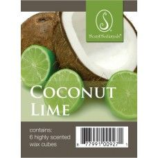 ScentSationals Coconut Lime Wickless Wax Fragrance