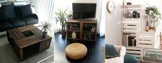 10 ways to upcycle wooden crates (L'Art de la Caisse via Recyclart)