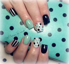 #nail #nails #nailart #uñas #diseño uñas by mable