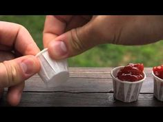You've Been Using Ketchup Cups All Wrong ~ It turns out that you don't need five of them in order to enjoy all of your fries. One little cup, when tweaked and stretched a little, can hold just as much as two unaltered ones. #diy #ketchup #lifehack