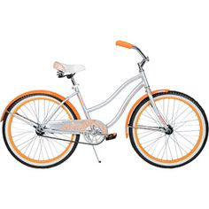 "24"" Huffy Cranbrook Girls' Cruiser Bike, Silver....it is Orange and has Paisley...love it!"