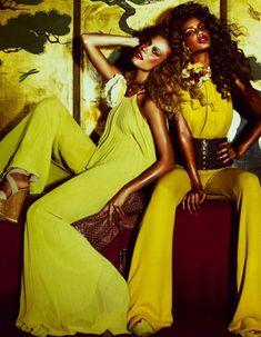 70 Disco Dress | Srta. Jara (Style 70′s Disco, fotografía de Andrew Yee)
