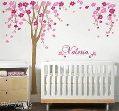 flower decor nursery - Google Search