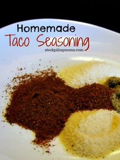 How To Make Your Own Taco Seasoning •1 part chili powder •1 part ground cumin •1 part garlic powder •1 part onion powder •¼ – ½ part crushed red pepper