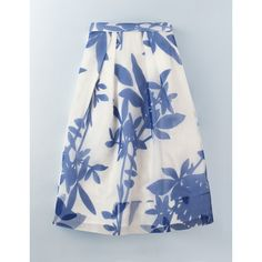 Boden Violet Skirt ($71) ❤ liked on Polyvore featuring skirts, floral print, pleated skirt, formal skirts, knee length pleated skirt, flower print skirt and violet skirt