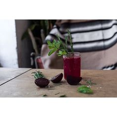Yeah, it might not be that hot outside. But this is our homemade beetroot lemonade, how can you resist this fella? Roamers Berlin, Beetroot, Lemonade, The Outsiders, This Is Us, Homemade, Table Decorations, Canning, Instagram Posts