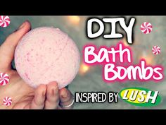 DIY Peppermint Bath Bombs! Inspired by Lush - YouTube