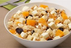 Sałatka owocowa z ryżem/ Fruit salad with rice, www.winiary.pl