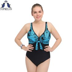 557d1eed63 Cheap suit swim, Buy Quality swimwear swimming directly from China plus  swim suits Suppliers: 2017 sexy Bow tie xxl xxxl large size one piece  swimsuit plus ...