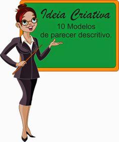 Ideia Criativa - Gi Barbosa Educação Infantil: 10 modelos de parecer descritivo Educação infantil...