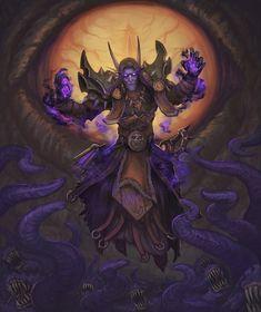 Meryl Felstorm By John Dotegowski Warcraft Art World Of Warcraft