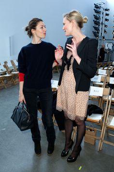 Sofia Coppola - Rodarte - Front Row - Fall 2011 Mercedes-Benz Fashion Week