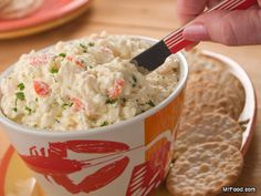 Lobster Dip - Put out this dip for Labor Day weekend, and your guests will be gathered 'round the party food table all day long.
