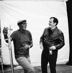 The Hateful Eight: Quentin Tarantino,& Samuel L. Jackson