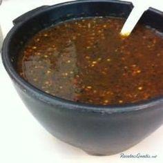Salsa de chile morita (tipo taquera)