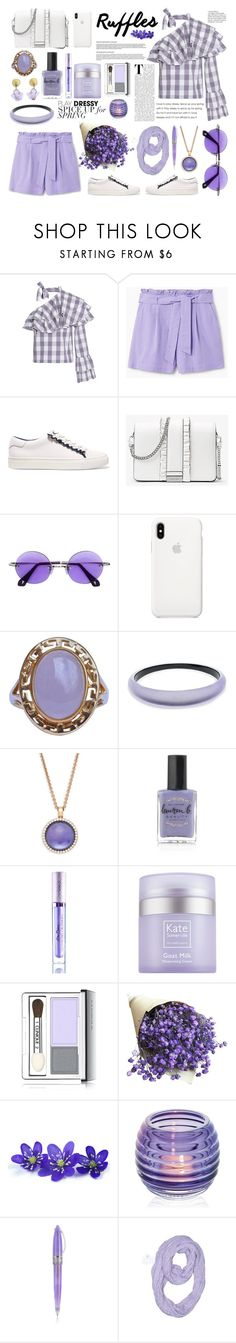 """Senza titolo #7555"" by waikiki24 ❤ liked on Polyvore featuring W118 by Walter Baker, MANGO, Tory Sport, MICHAEL Michael Kors, Sauren, Michael Michaud, Alexis Bittar, Roberto Coin, Lauren B. Beauty and Lime Crime"