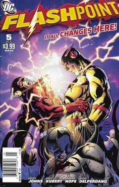 DC Flashpoint comic issue 5